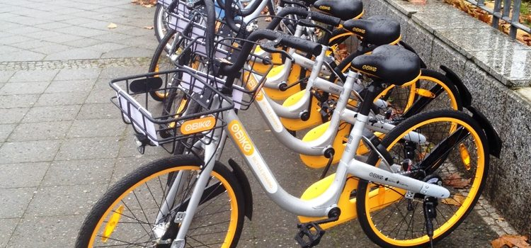 oBikes and Nextbikes in Berlin