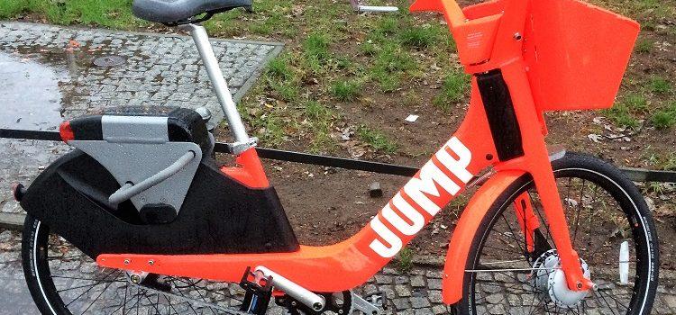 Uber Bikes JUMP to Europe